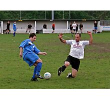 Committed to the Tackle Photographic Print