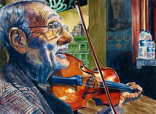 The Turkish Violinist  by Jamie Alexander