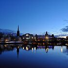 Reflection at Dusk, Stockholm by kweirich