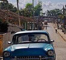 Street scene, Trinidad, Cuba by buttonpresser