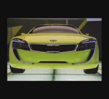 Kia Kee Coupe Concept by John Gaffen
