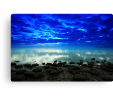 stillness of the bay Canvas Print