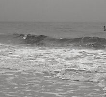 Fog - Lido Beach, 2011 by Frank Bibbins