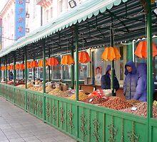 Outdoor Treats Market in Harbin, China by Alecia Hoobing
