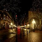 Gastown at Night by Wendi Donaldson