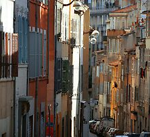 Street in Marseilles, France by Catherine Ames