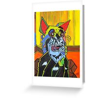 Weeping she-devil Greeting Card
