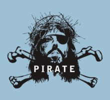 Pirate Jesus by elbladeo