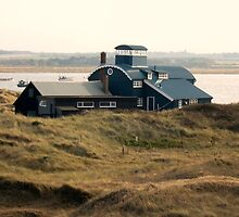 Building at Blakeney Point by Holly Daniels