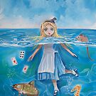 Alice in Wonderland pool of tears by gordonbruce