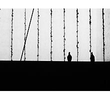Two but alone Photographic Print