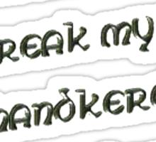 Sticks and Swords May Break my Bones Sticker