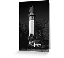 grays harbor lighthouse, westport, washington, usa Greeting Card