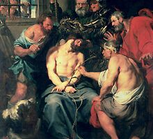 The Crowning with Thorns, 1618-20 by Sir Anthony Van Dyck by Bridgeman Art Library