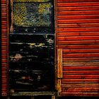 Fishermans Shed door by Karen  Betts