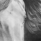 """Eyes of Epona"" Close up of a Horse by iLovePencils"