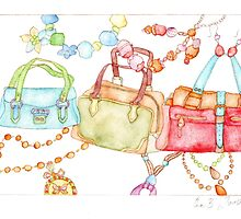 Handbags Fair by Evawatercolours