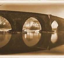 Stirling Bridge Mirrored by Ian Coyle