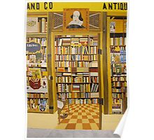 Shakespeare and Co Bookstore, Paris Poster