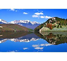 Mountain Reflections Photographic Print
