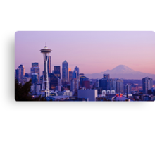 Good evening, Seattle! Canvas Print