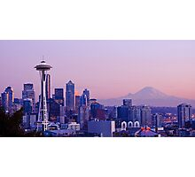 Good evening, Seattle! Photographic Print