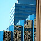 Buildings in Oklahoma City by Ann Reece
