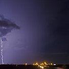 Interstate lightning by Larry  Grayam