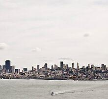 San Francisco Bay by Richard Sugandha