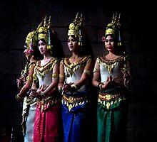 Cambodia - Apsara 01 by Darren Wilch