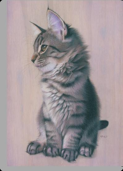 Contemplating Mischief by Karen  Hull