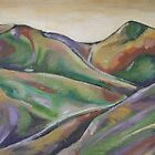 Shropshire Hills by taralewisart