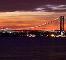 Verrazano Narrows Bridge  by NYLikProduction