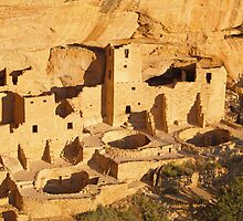 Cliff Palace at Mesa Verde, Colorado by Alex Cassels