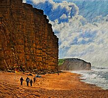 East Cliff, West Bay, Dorset, UK by buttonpresser