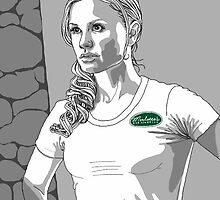 Sookie. ©Charlaine Harris and HBO/TrueBlood. by Skot  Schuler