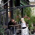 peoplescapes #211, but my point is, Paris, France  by stickelsimages