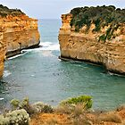 Loch Ard Gorge, Great Ocean Road, Victoria, Australia by Cindy Ritchie