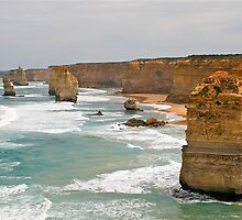 The Twelve Apostles, Great Ocean Road, Victoria, Australia by Cindy Ritchie