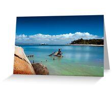 Picnic Bay Wreck  Greeting Card