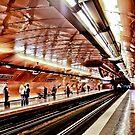 Arts et Metier Metro station by Alex Howen