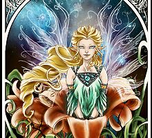 Art Nouveau: Fairy of the Night by Emilie Dionne
