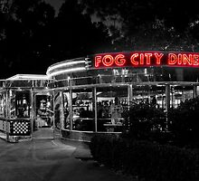 neon fog city diner by Sebastian Warnes
