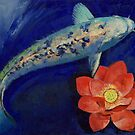 Gin Matsuba Koi and Lotus by Michael Creese
