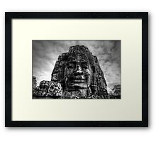 Bayon, Siem Reap, Cambodia Framed Print