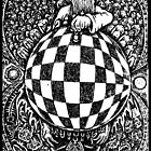 Heaven vs Hell  in Chess FishEye Drawing Revised by JZdezigns