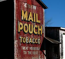Mail Pouch Barn  by Marcia Rubin