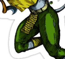 Fear the Fighting Ferret Sticker