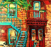 DE BULLION STREET GIRLS by Carole  Spandau