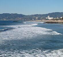 Venice Beach to Santa Monica by Gloria Abbey